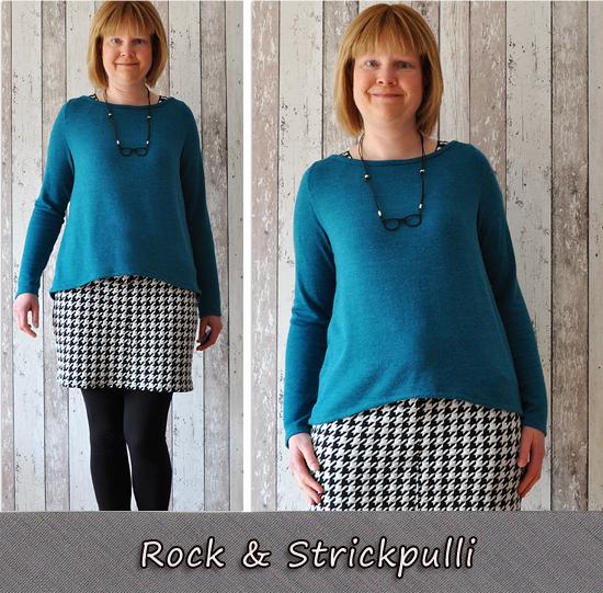 Hahnentrittrock & Shirt Malotty