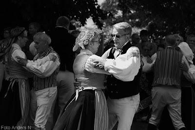 midsommar, midsommarfirande, holje folkdanslag, folkdansare, olofström, holje park, holjeparken, små grodorna, midsommarstång, majstång, dans kring, folkdans, foto anders n
