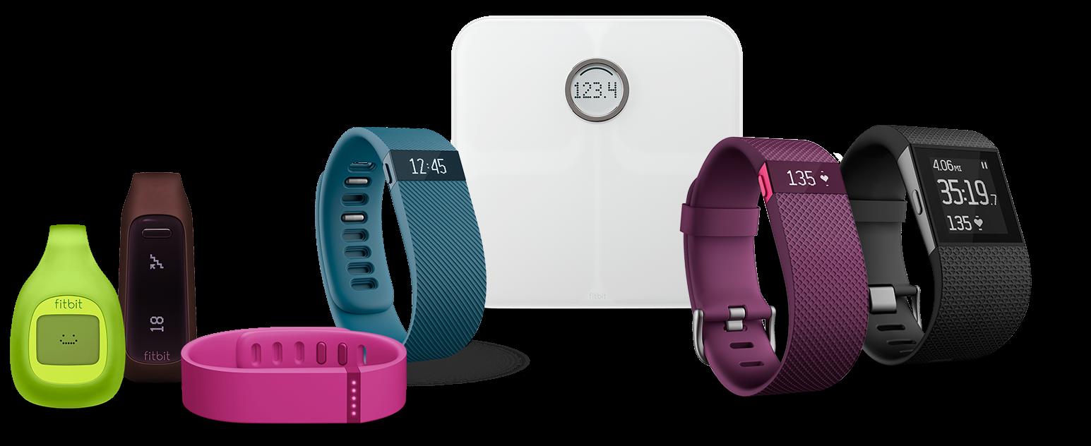 Fitbit podomètre design intelligent (c)fitbit.com bracelet d'activité podomètre connecté