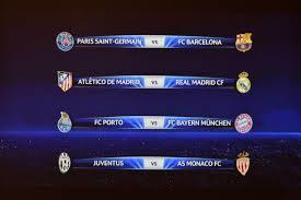 Partidos de Cuartos de Final Champions League 2014/2015