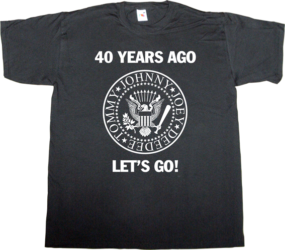 ramones  cbgb rock tribute anniversary punk legends t-shirt ephemeral-t-shirts