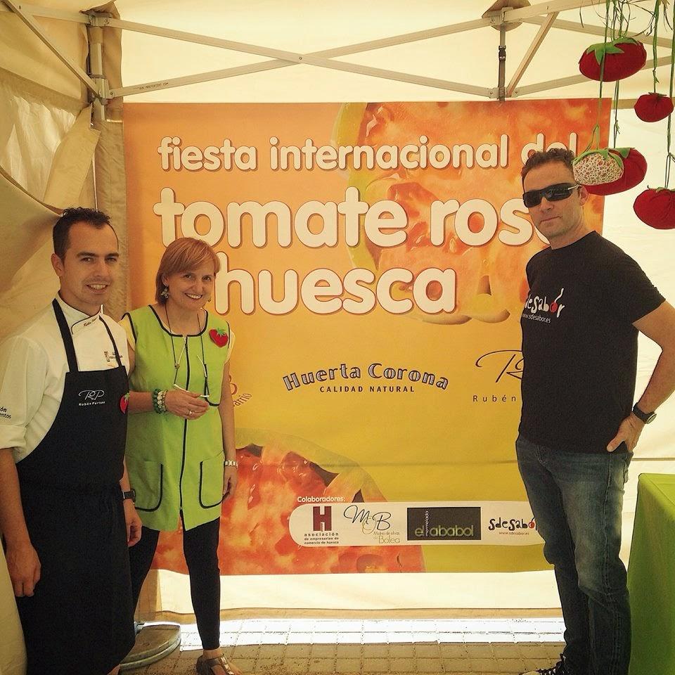 Fiesta internacional del tomate rosa de Huesca