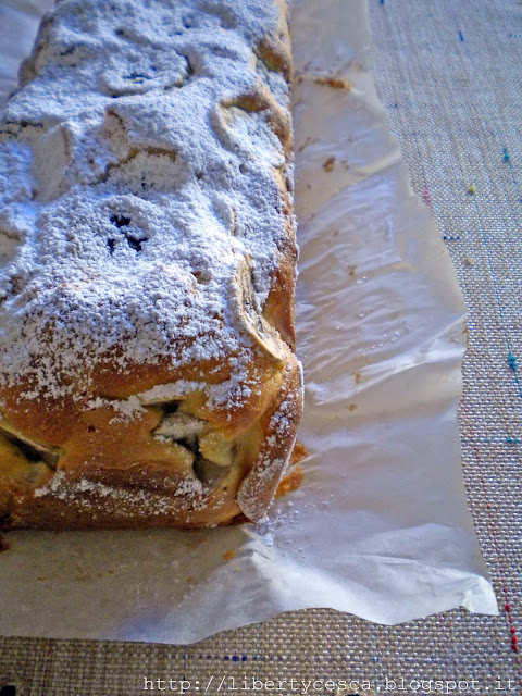 plumcake alla banana e cannella / cinnamon and banana plum-cake