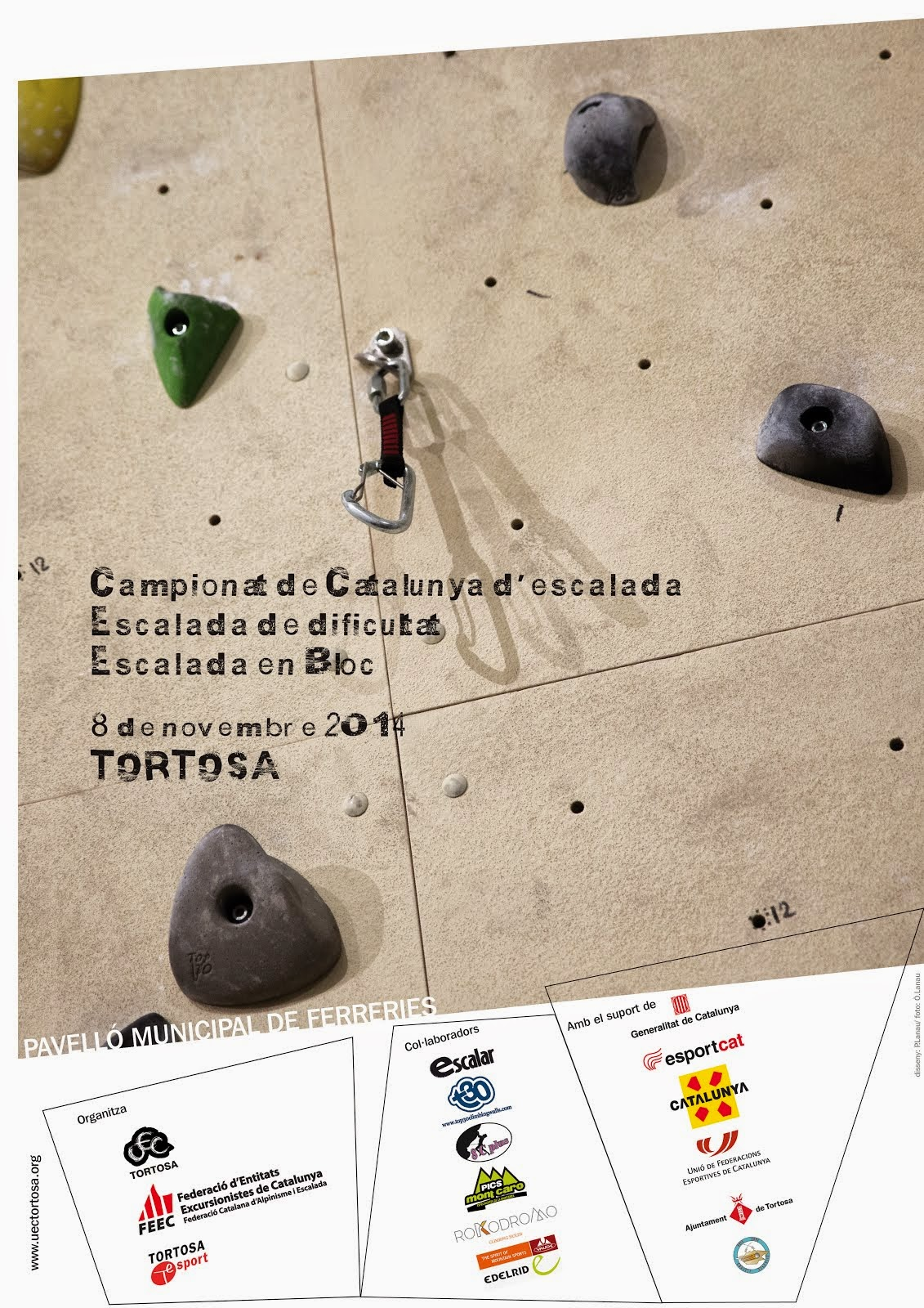 CAMPIONAT DE CATALUNYA D'ESCALADA