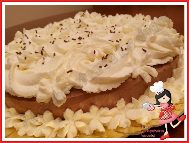 * Tarta De Chocolate Y Mascarpone (thermomix Y Tradicional)
