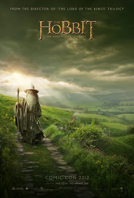 hobbit, movie poster, comic con