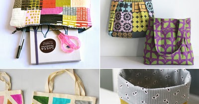 How to sew cases, bags, and buckets