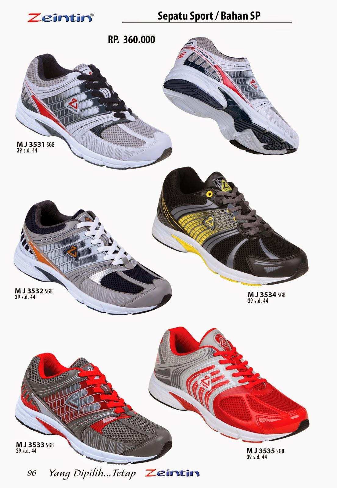 Sepatu Olahraga Zeintin, dari katalog edisi Brilian 11