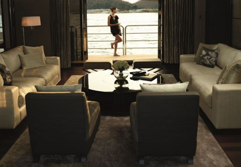 imperial princess yacht luxury cruising vessel saloon