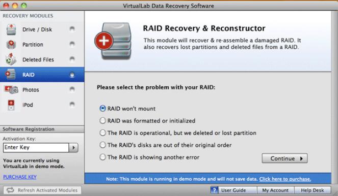 virtuallab data recovery activation key