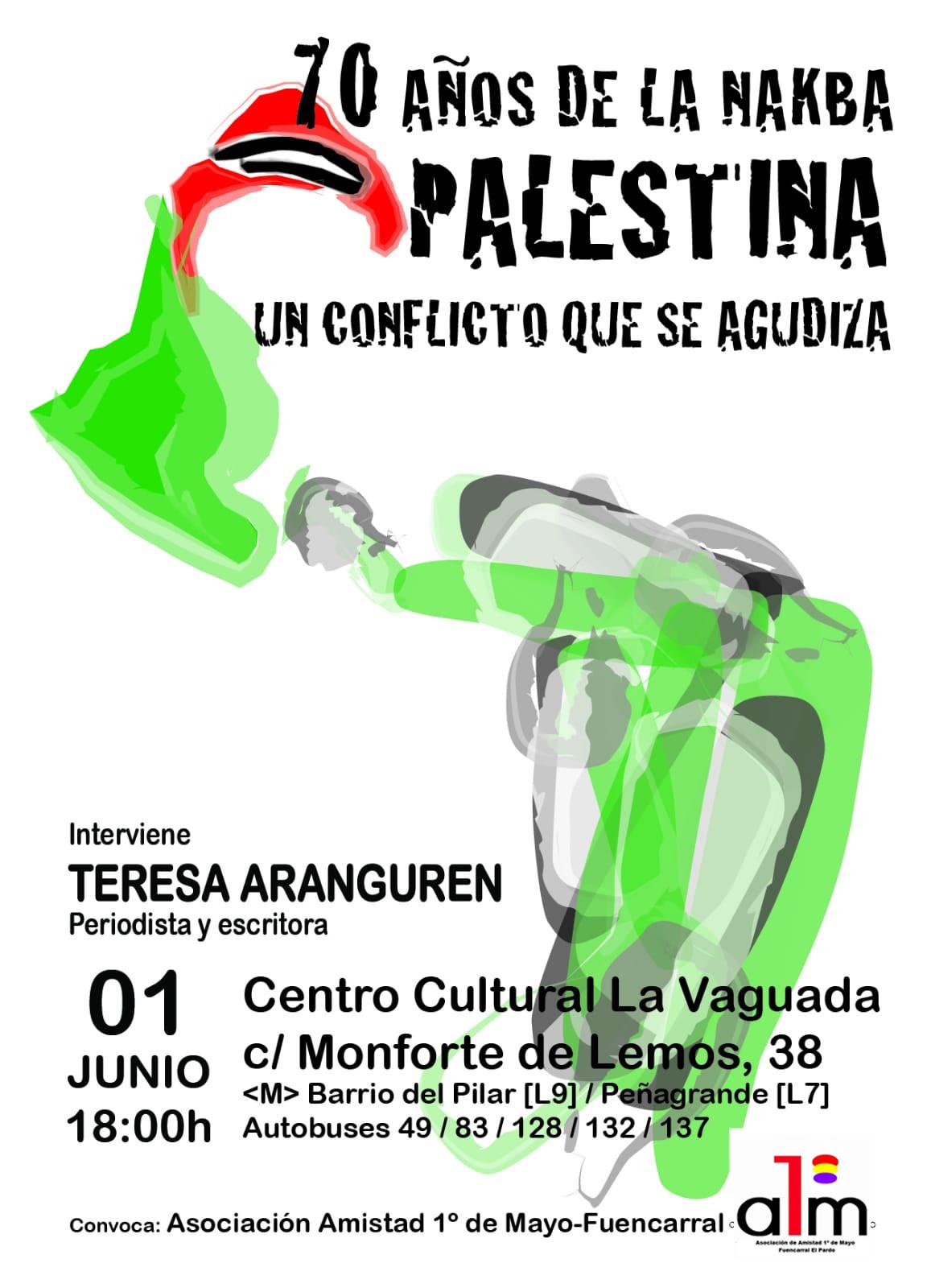1 de junio Debate Solidario con el Pueblo Palestino