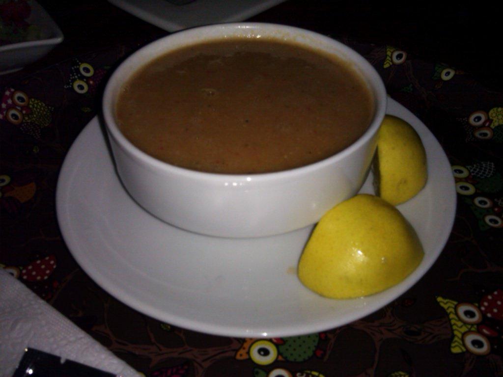 Organik mercimek çorbası..Vegan soup of the day...Lentil and vegetables soup...