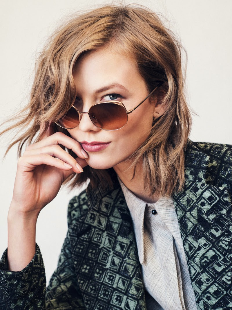 glasses, sunglasses, Karlie Kloss