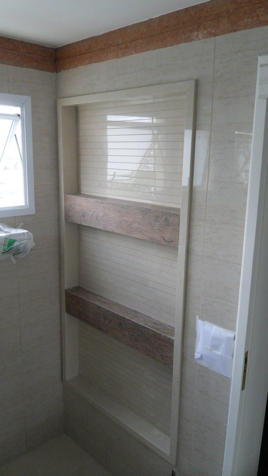 1000+ images about Banheiro  Bathroom on Pinterest  Arquitetura, Cuba and B -> Nicho Para Shampoo Banheiro