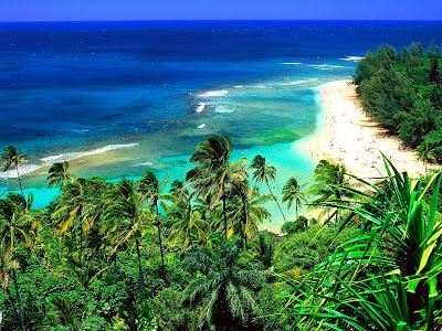 Hawaii Kauai Beach Holiday Places Awesome Landscape Wallpaper