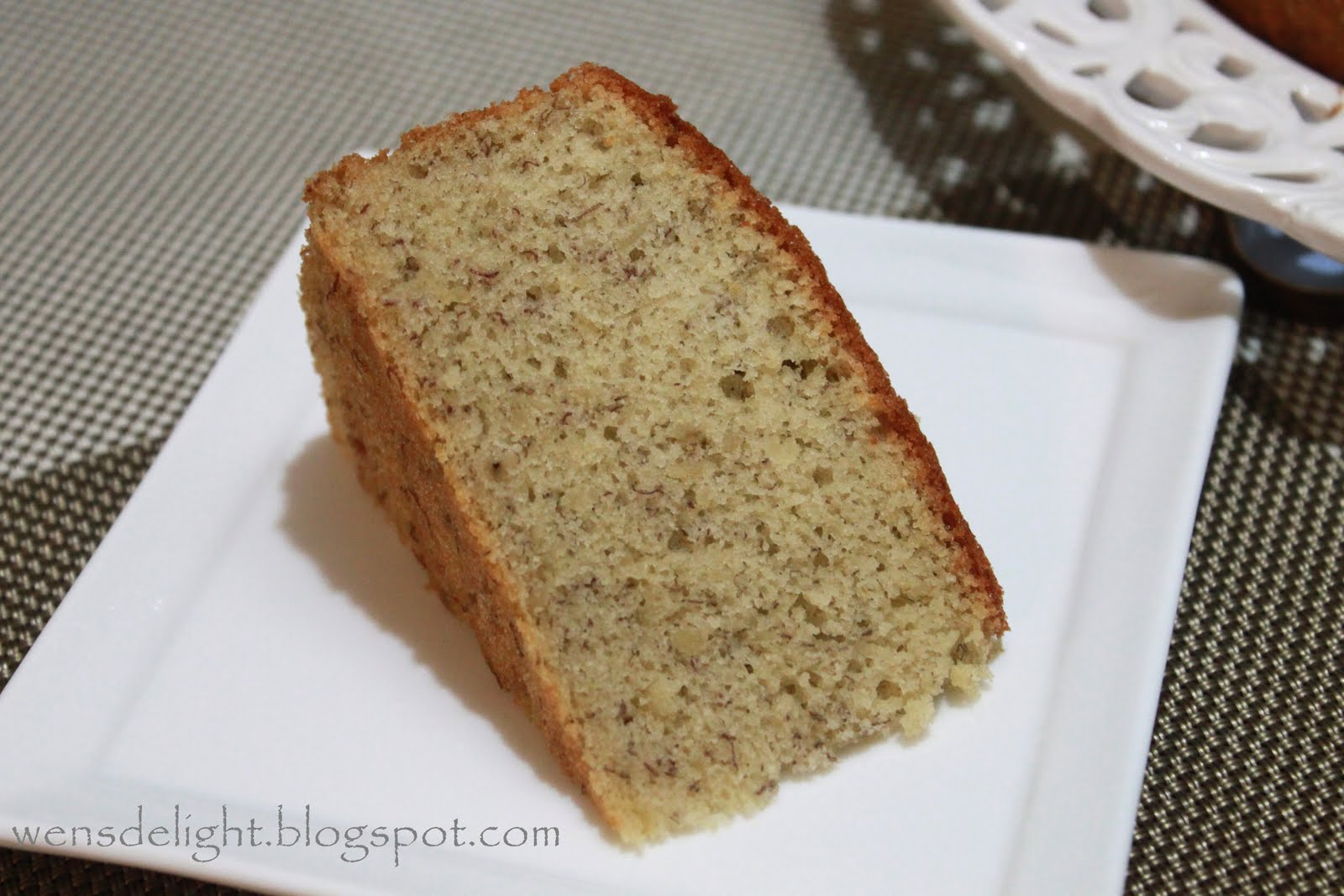 Recipe banana chiffon cake