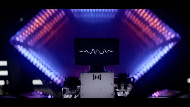 "Thank you ""Wall-E"", Flume and Intel for this amazing piece of art - Intelligent Sounds'"