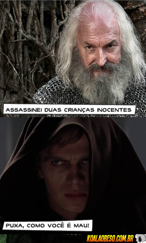 Star Wars X Game of Thrones - Rickard Karstark X Anakin