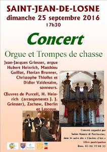 Concert Orgue et 5 Trompes de chasse
