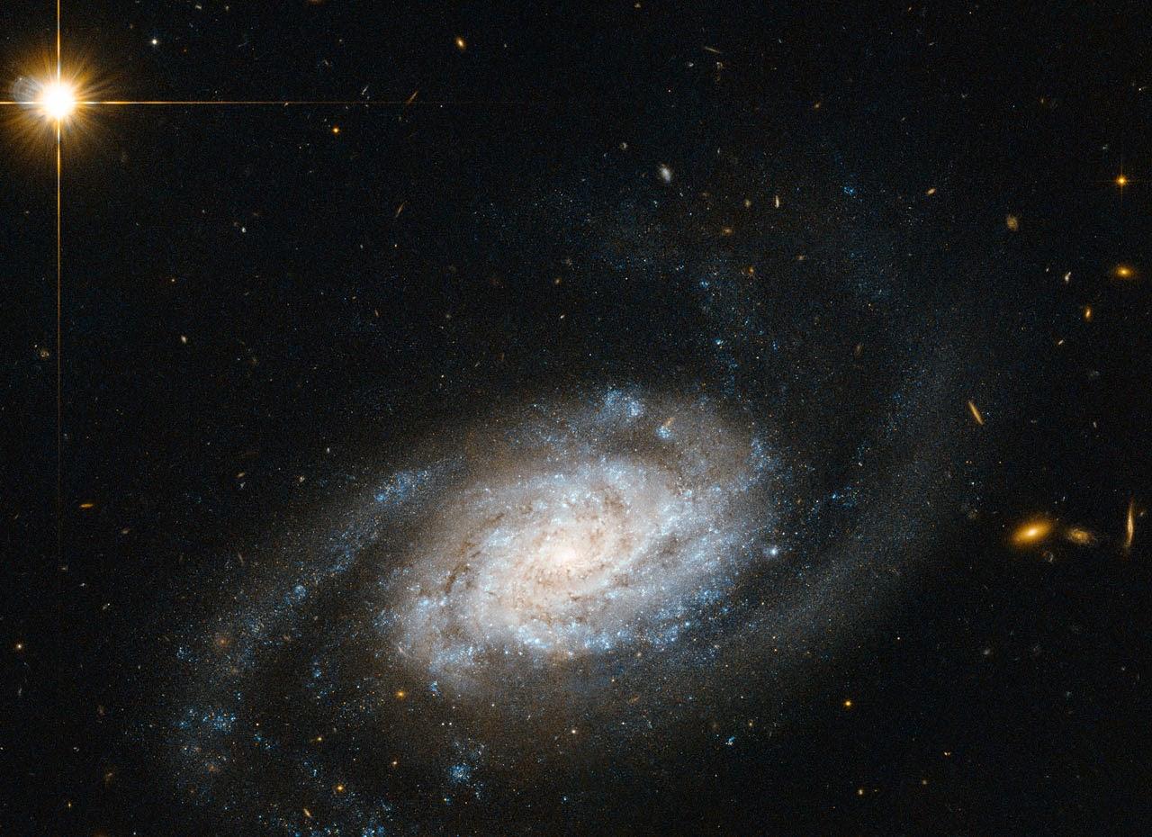 Галактика NGC 3455