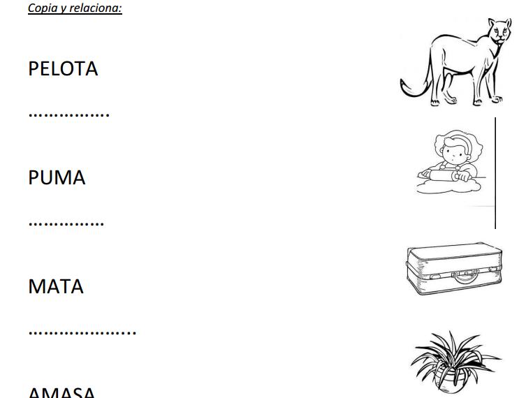 MilagroTIC: LECTOESCRITURA - FICHAS IMPRIMIBLES PDF- RECURSOS ...