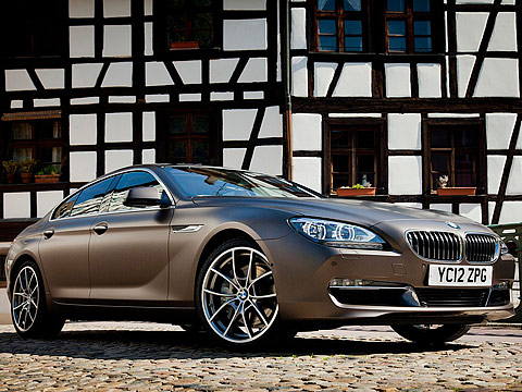 2013 bmw 6 series gran coupe uk version. Black Bedroom Furniture Sets. Home Design Ideas