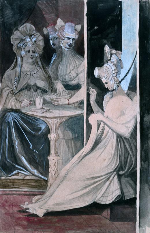 Henry Fuseli painting