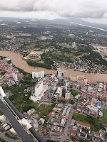 Bird's eye view of Kuching