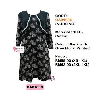 T-Shirt-Muslimah-Qaseh-QA0163C