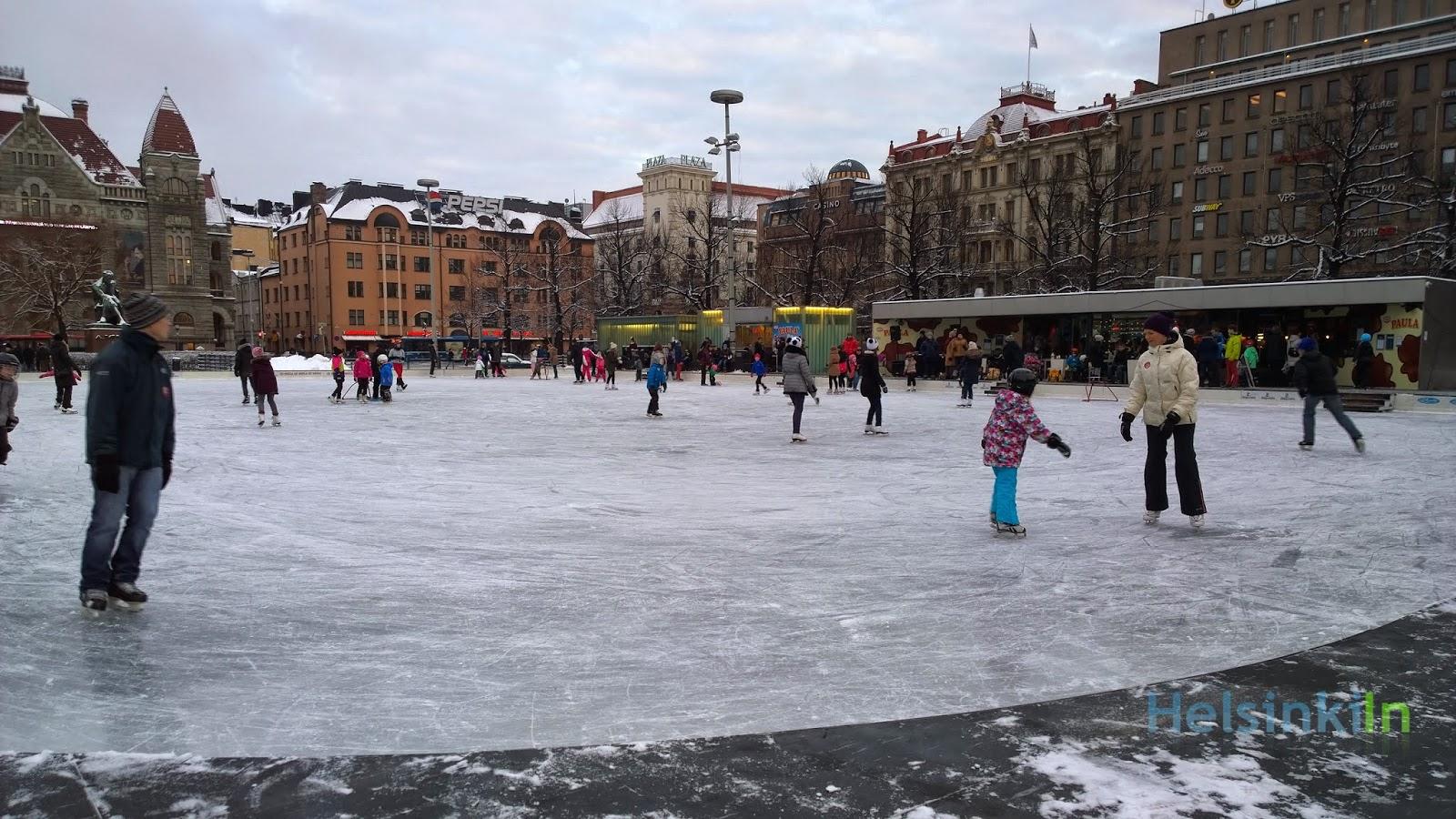 IcePark at Rautatientori