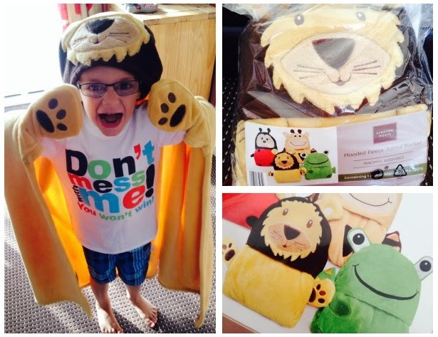Yorkshire Blog, Mummy Blog, Parent Blog, Lion, Blanket, Review, Aldi,