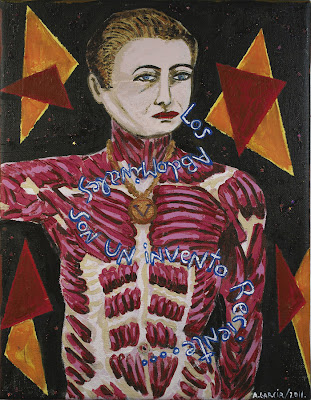 Los abdominales son un invento reciente, Agustí Garcia Monfort, Bad Painting, Pinturas,