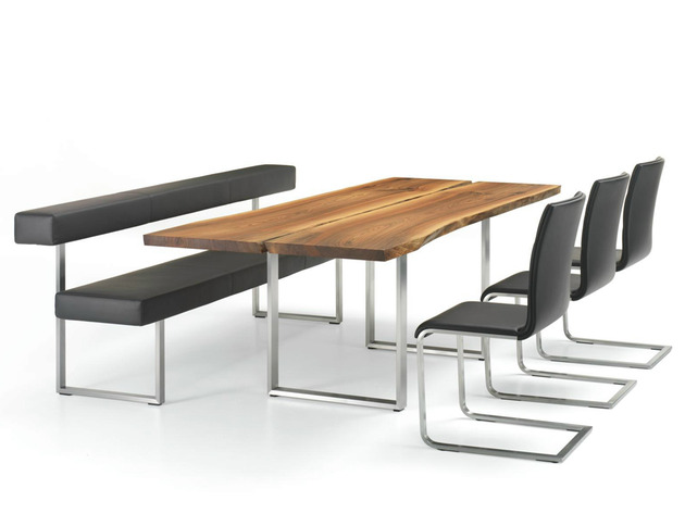 desain pasangan meja dan kursi ruang makan desain rumah