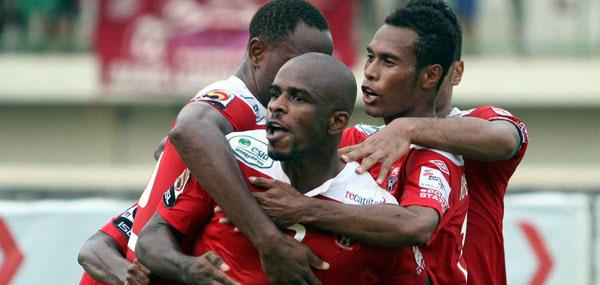 Sriwijaya FC vs Pelita Jaya 5 Juli 2012