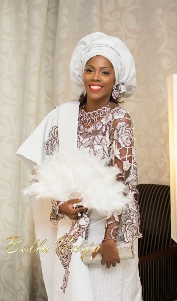 Tiwa Savage and Tunji Balogun's traditional wedding