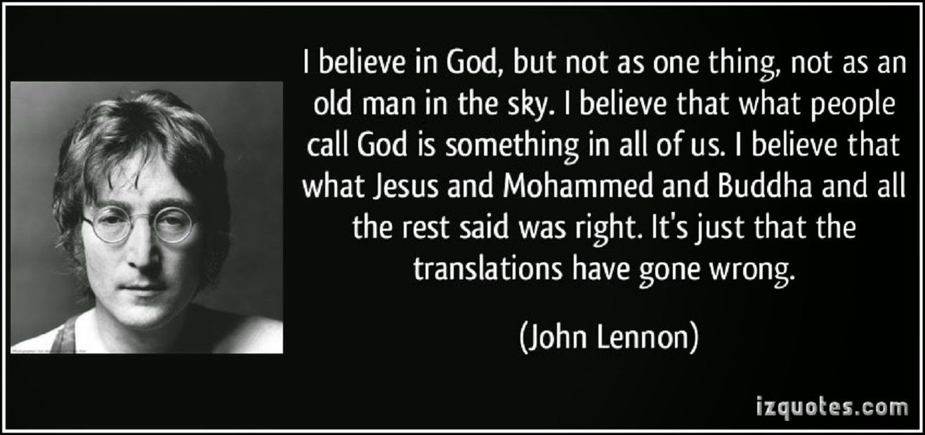 john lennons beliefs essay Was john lennon a christian i believe john struggled with his beliefs he seemed to be trying different things in an attempt to fulfill himself.