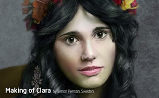 Create a portrait of Clara