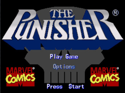 The Punisher title screen
