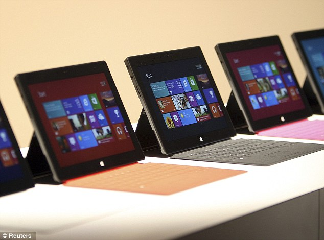 Microsoft's Surface Tablet features