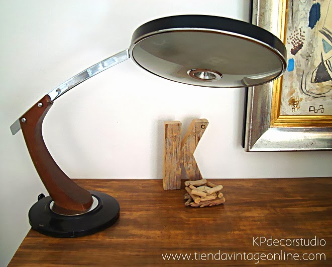 Comprar lámpara FASE modelo President SC II de escritorio, original, antigua, estilo vintage