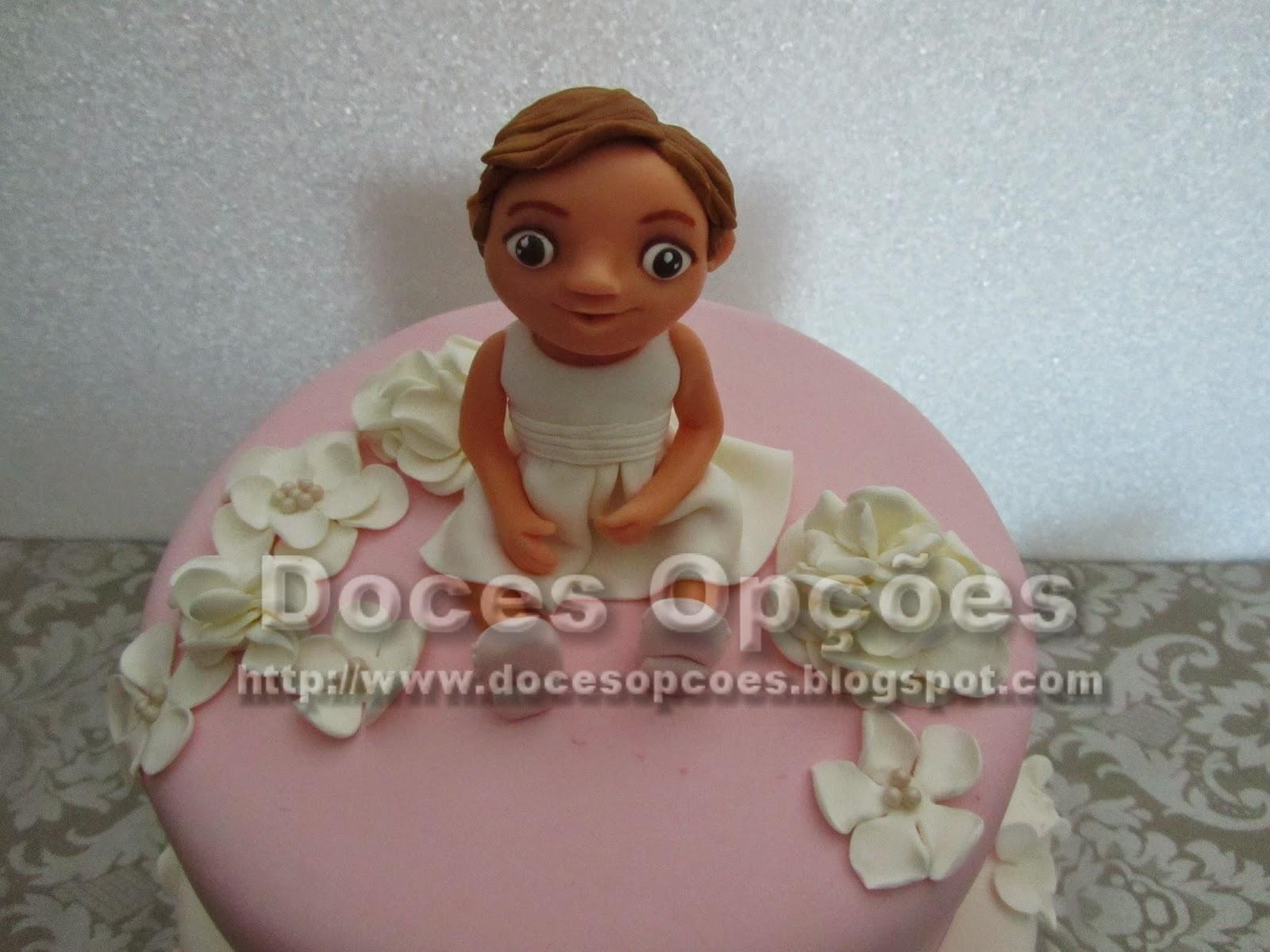 girl sugar paste