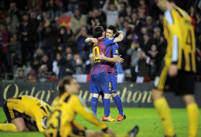 Barcelona 4 - 0 Real Zaragoza (3)