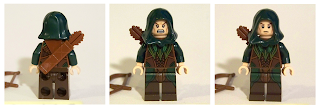 LEGO Elf archer minifigure