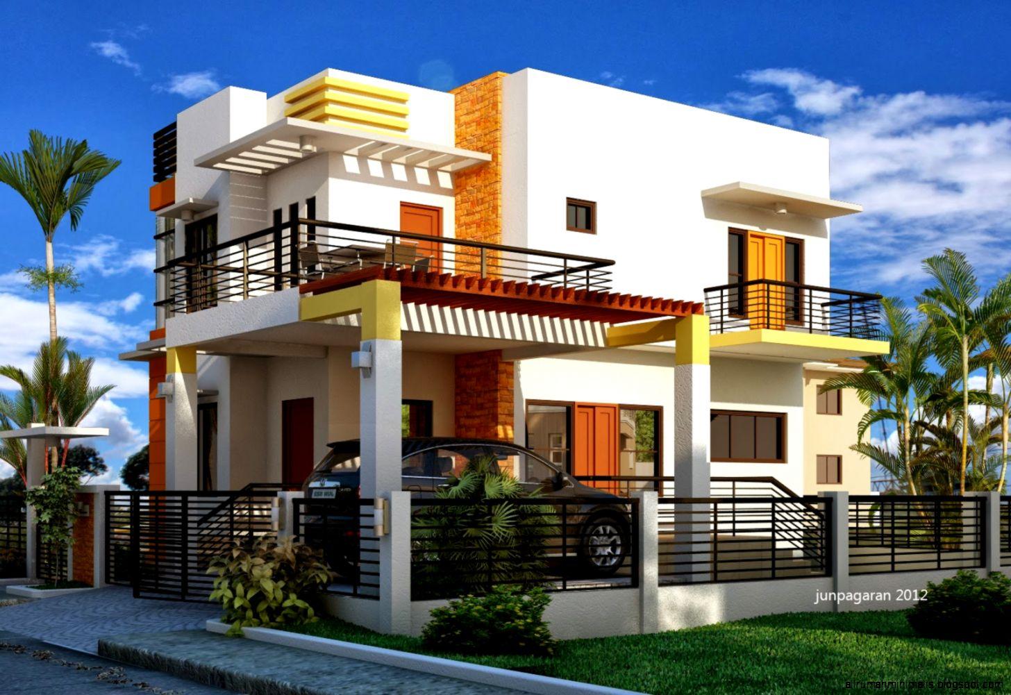 rumah mewah minimalis modern  Cara Mendesain Rumah
