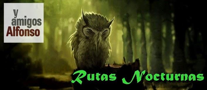 Rutas MTB Nocturnas Alfonsoyamigos