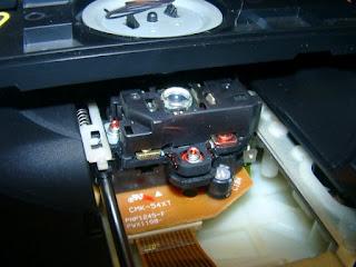 Pioneer PD-103 laser
