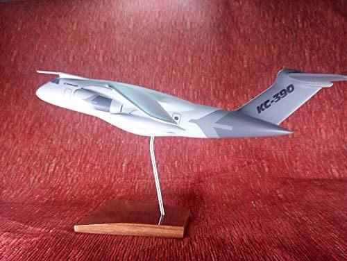 Aviao Embraer KC-390 - Pintura Versao de Demonstracao Embraer - MAQUETE