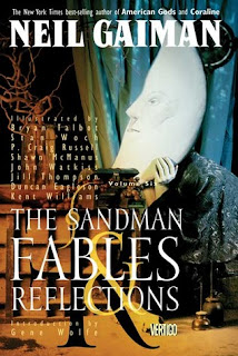 Book cover of The Sandman: Fables and Reflections by Neil Gaiman
