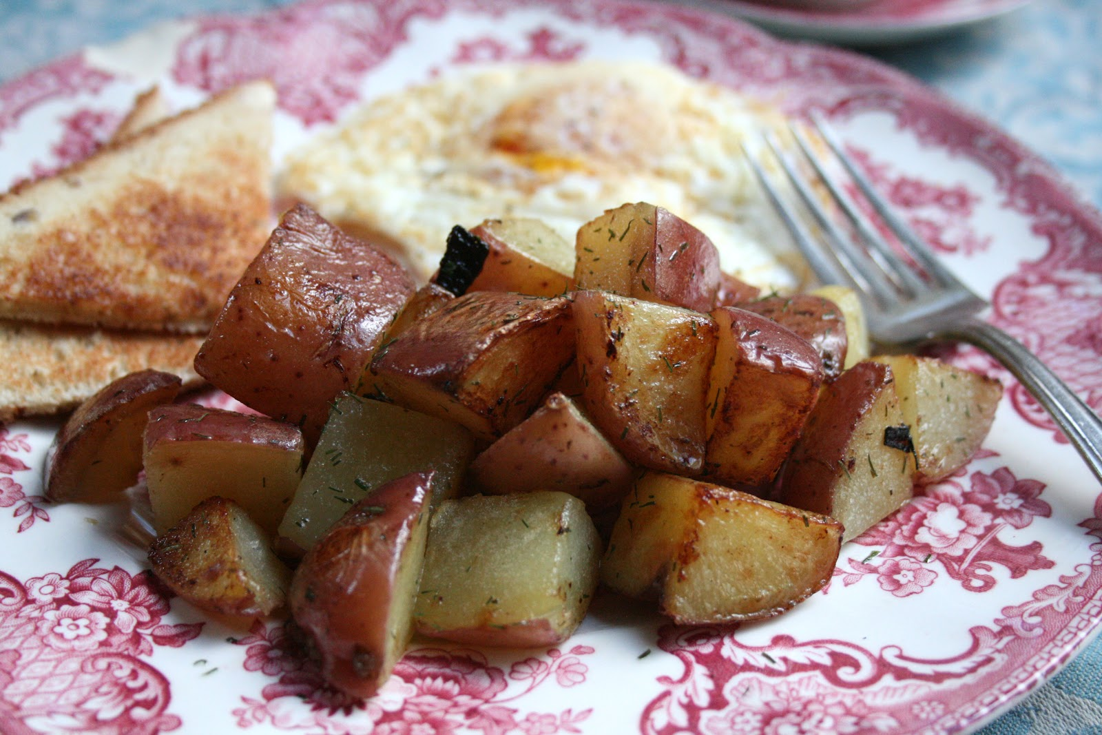 how to make hash browns from red potatoes