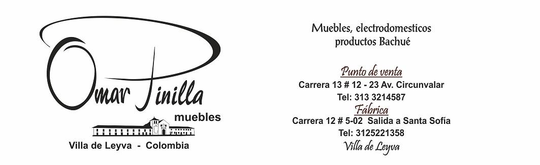 Muebles Omar Pinilla